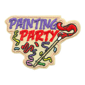 S-3924 Painting Party Patch