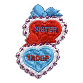 S-0293 Sister Troop Patch