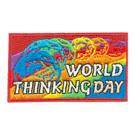 S-3928 World Thinking Day Patch
