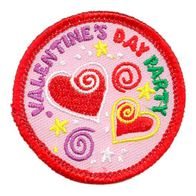S-3929 Valentine's Day Party Patch