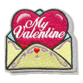 S-3932 My Valentine Patch