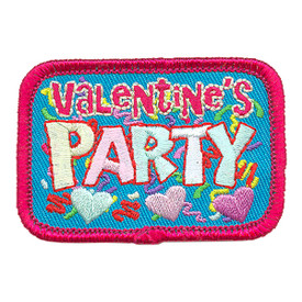 S-3933 Valentine's Party Patch