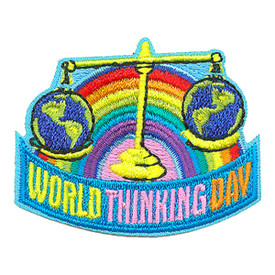 S-3934 World Thinking Day Patch