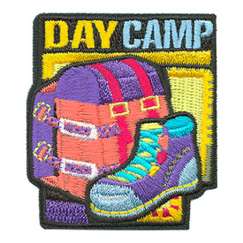 S-3937 Day Camp Patch