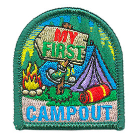 S-3938 My First Campout Patch