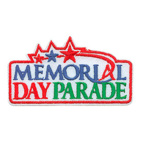 S-3944 Memorial Day Parade Patch