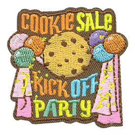 S-3946 Cookie Sale Kick Off Patch