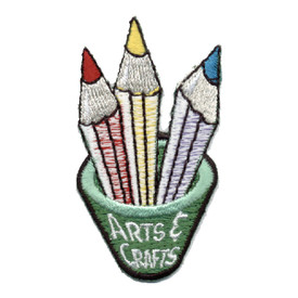S-0295 Arts & Crafts (Pencils) Patch