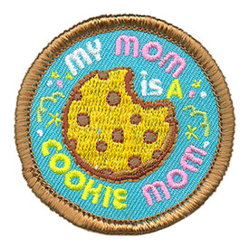 S-3949 My Mom Is A Cookie Mom Patch