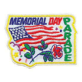S-3950 Memorial Day Parade Patch