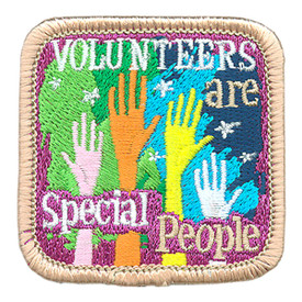 S-3955 Volunteers Are Special Patch