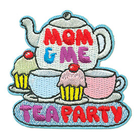 S-3962 Mom & Me Tea Party Patch