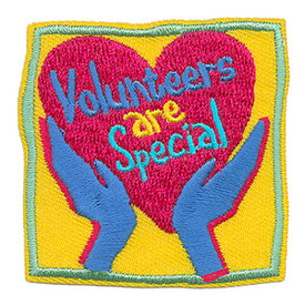 S-3963 Volunteers Are Special Patch