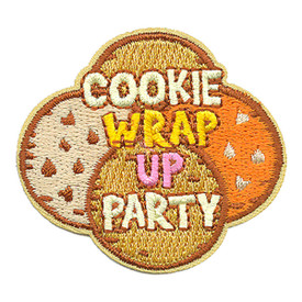 S-3970 Cookie Wrap Up Party Patch
