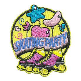 S-3971 Skating Party Patch