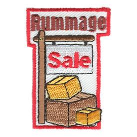 S-0297 Rummage Sale Patch