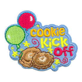 S-3975 Cookie Kick Off Patch