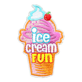 S-3977 Ice Cream Fun Patch