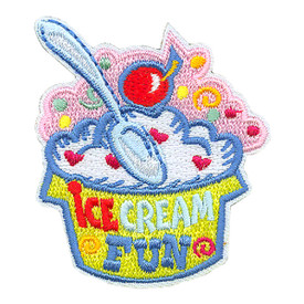 S-3982 Ice Cream Fun Patch