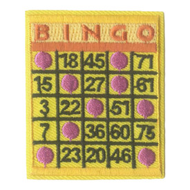 S-0299 Bingo - Board Patch