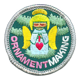 S-3985 Ornament Making Patch