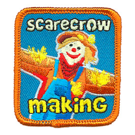 S-3986 Scarecrow Making Patch