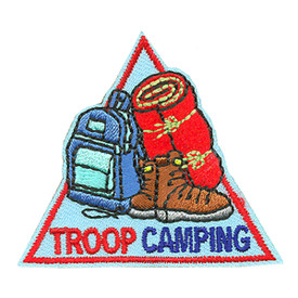 S-3993 Troop Camping Patch