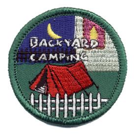 S-0300 Backyard Camping Patch