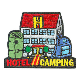 S-3996 Hotel Camping Patch