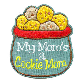 S-4004 My Mom's A Cookie Mom Patch