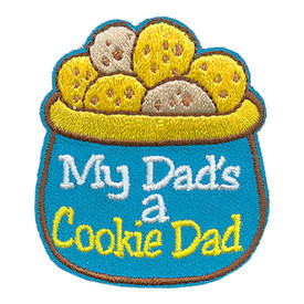 S-4009 My Dad's A Cookie Dad Patch