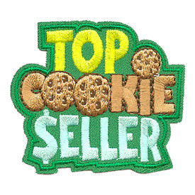S-4010 Top Cookie Seller Patch