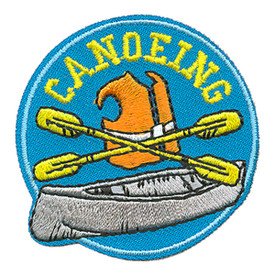 S-4011 Canoeing Patch