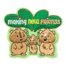 S-4016 Making New Friends Patch