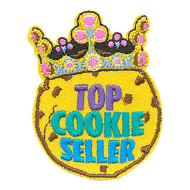 S-4017 Top Cookie Seller Patch