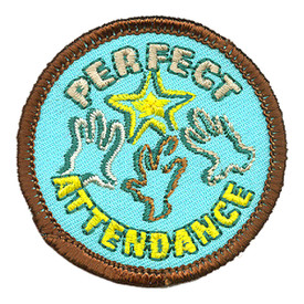 S-4022 Perfect Attendance Patch