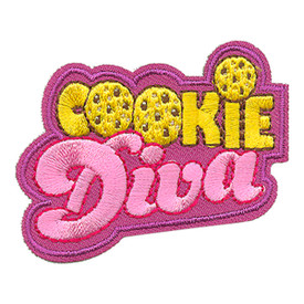 S-4023 Cookie Diva Patch