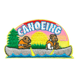 S-4024 Canoeing Patch