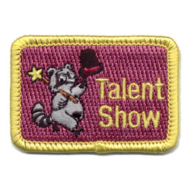 S-0305 Talent Show (Raccoon) Patch