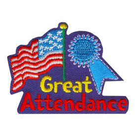 S-4025 Great Attendance Patch