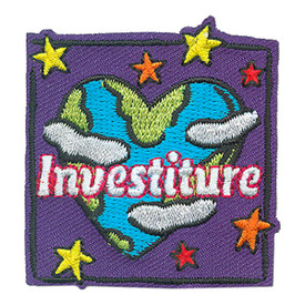 S-4026 Investiture Patch