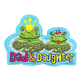 S-4039 Dad & Daughter Patch