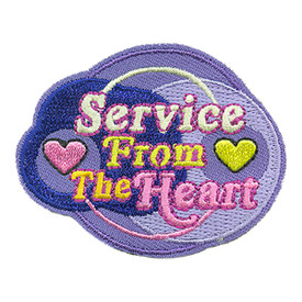 S-4040 Service From The Heart Patch