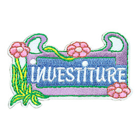 S-4042 Investiture Patch