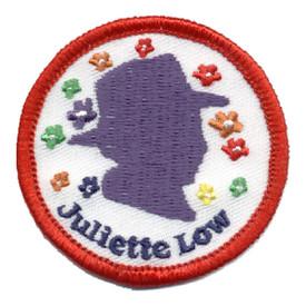 S-0307 Juliette Low - Purple Patch