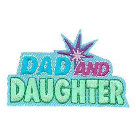 S-4049 Dad And Daughter Patch