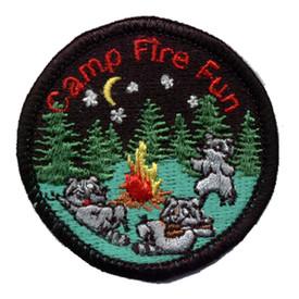 S-0310 Campfire Fun (Raccoons) Patch