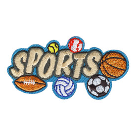 S-4058 Sports Patch