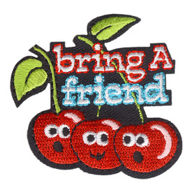 S-4059 Bring A Friend Patch