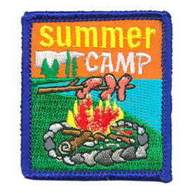 S-4064 Summer Camp Patch